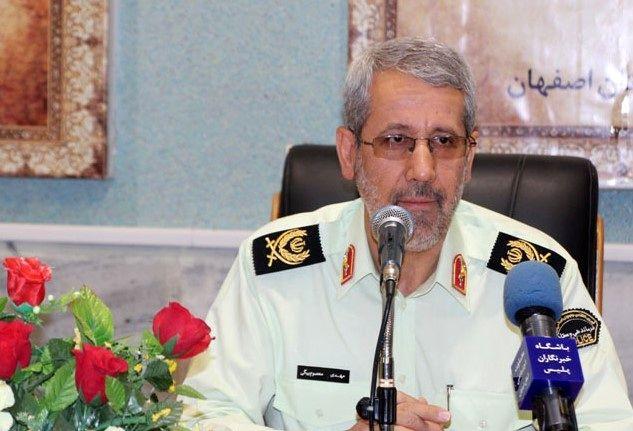 رضایتمندی توریست های خارجی از فعالیت پلیس گردشگری در اصفهان