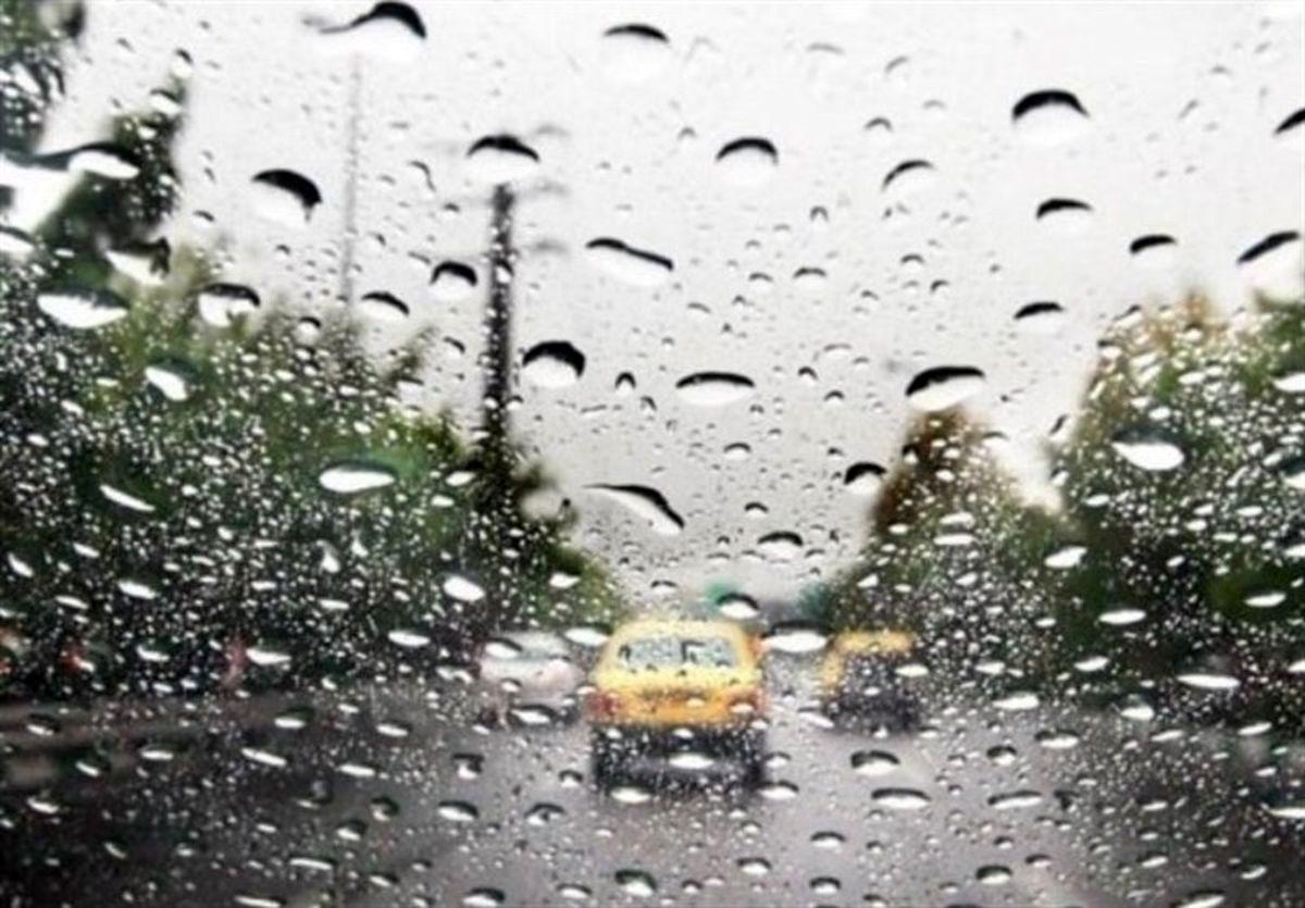 رگبار باران در مناطق غربی و شمالی هرمزگان