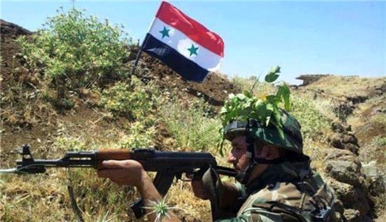 آزادسازی شهرک القصابیه توسط ارتش سوریه