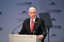 مایک پنس خواستار پایبندی اتحادیه اروپا به تحریم های ایران شد