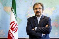 قاسمی: اتحادیه اروپا نمی تواند شریکی مطمئنتر از ایران در منطقه پیدا کند