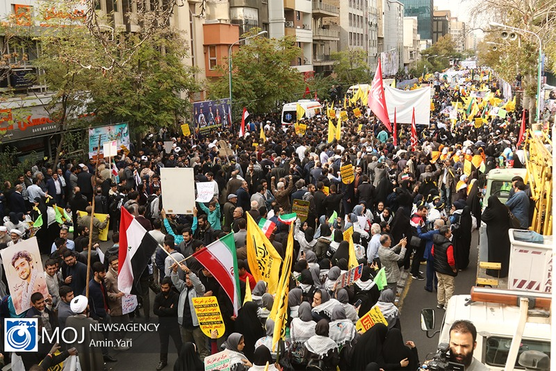 مسیرهای راهپیمایی مردم تهران اعلام شد
