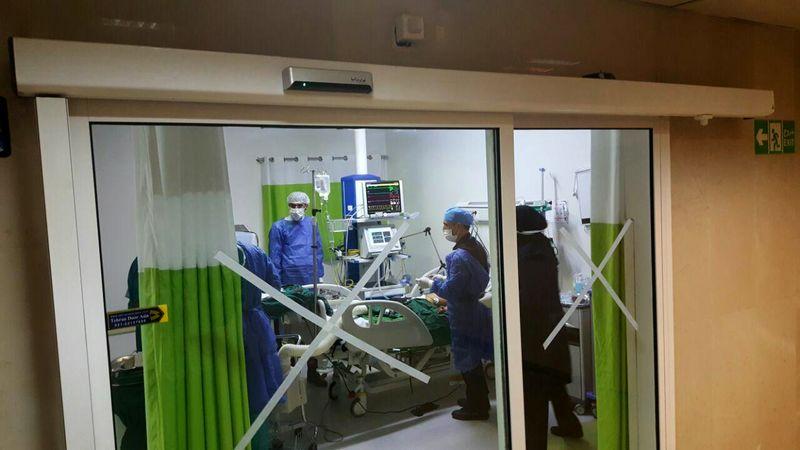 درمان موفقیت آمیز بیمار با ۶۵ درصد سوختگی