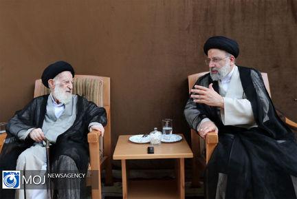 دیدار رییس جمهوری منتخب با برخی از مراجع تقلید در قم
