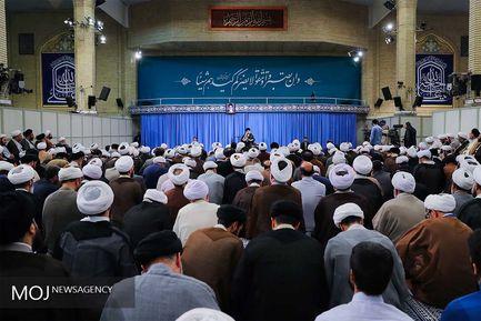 نخستین جلسه درس خارج فقه حضرت آیتالله خامنهای در سال تحصیلی جدید