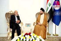 دیدار ایرج مسجدی با عمار حکیم