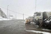 برف روبی ۸۰۶ کیلومتر از راههای استان مازندران