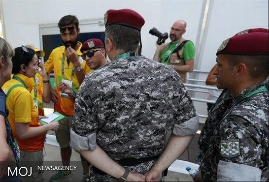 شلیک گلوله در مرکز رسانهای دهکده المپیک