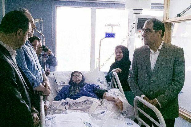 وزیر بهداشت درگذشت مهدیه الهی قمشه ای را تسلیت گفت