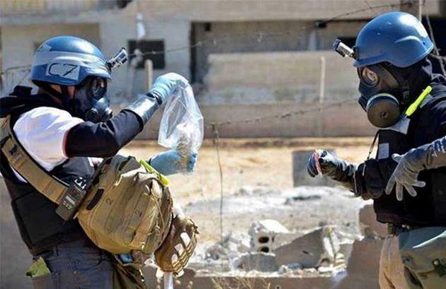 کارشناسان سازمان منع تسلیحات شیمیایی عازم دمشق شدند