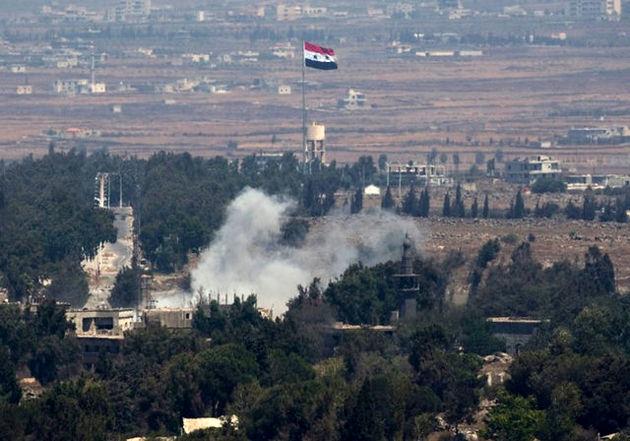 نفربر بمب گذاری شده داعش  در نزدیکی مسجد ابراهیم خلیل منفجر شد