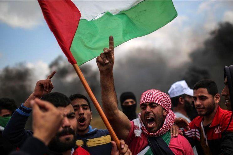 برگزاری اعتصاب سراسری در غزه در محکومیت معامله قرن