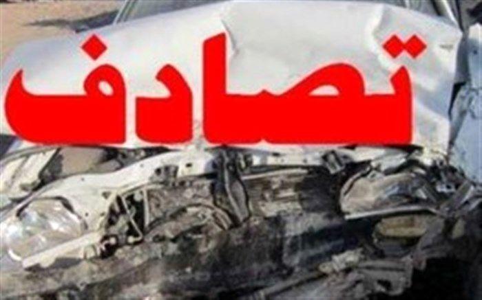 7 مصدوم در تصادف رانندگی خیابان بعثت در اصفهان
