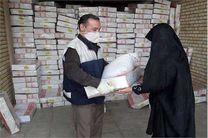 اهدای 1900 سبد غذایی به مددجویان کمیته امداد در نائین