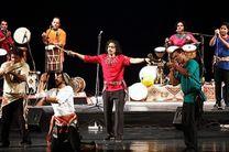 حضور کیهان کلهر در کنسرت گروه لیان
