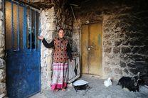 روستایی در آستانه جابجایی به علت رانش زمین