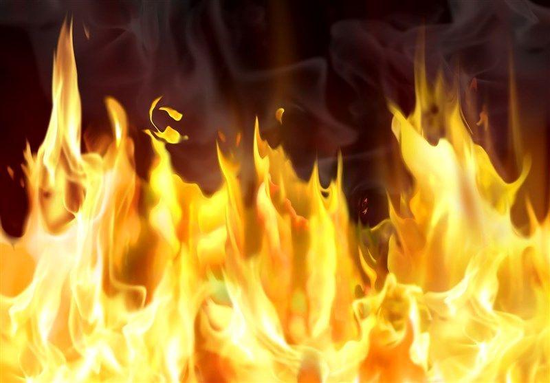 30 هکتار از مزارع کشاورزی خرمآباد در آتش سوخت