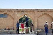 مرمت اضطراری 3 دهانه  پل تاریخی سی و سه پل در اصفهان