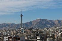 هوای تهران با شاخص 82 در وضعیت سالم است