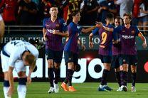 تساوی پر گل بارسلونا و ویارئال
