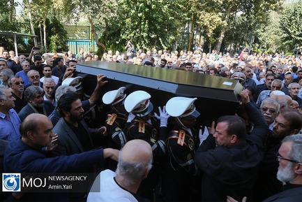 تشییع پیکر جعفر کاشانی پیشکسوت فوتبال