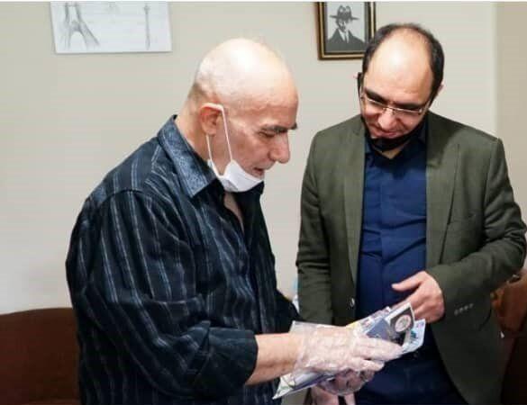 محمد طباطبایی به ملاقات جواد علیزاده رفت