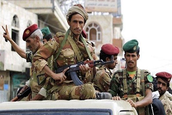 شلیک موشک قاهر إم ۲ به تجمع سرکردگان مزدوران سعودی
