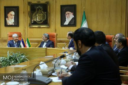 دیدار دبیر شورای امنیت ازبکستان با رحمانی فضلی
