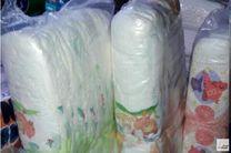 کشف 3 میلیارد ریال پوشک بچه احتکار شده در لنجان/ دستگیری یک نفر