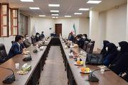 نشست رییس پارک علم و فناوری یزد با جمعی از مدیران دانشگاه آزاد میبد