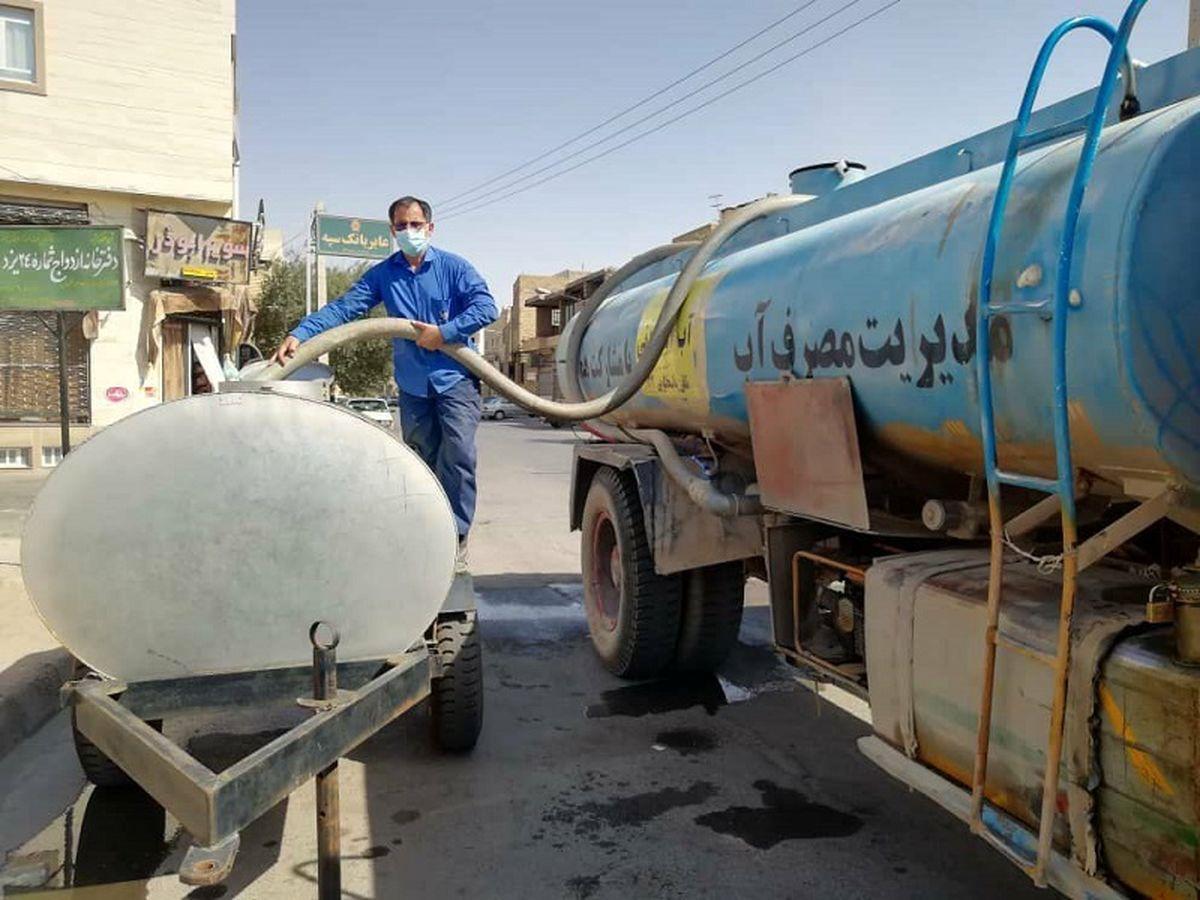 توزیع بیش از 61 میلیون لیتر آب به صورت سیار در استان اصفهان