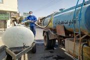 آبرسانی سیار با استفاده از 40 دستگاه تانکر در کلانشهر اصفهان