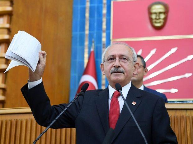 رهبر اپوزیسیون اسناد فرار مالیاتی نزدیکان اردوغان را منتشر کرد