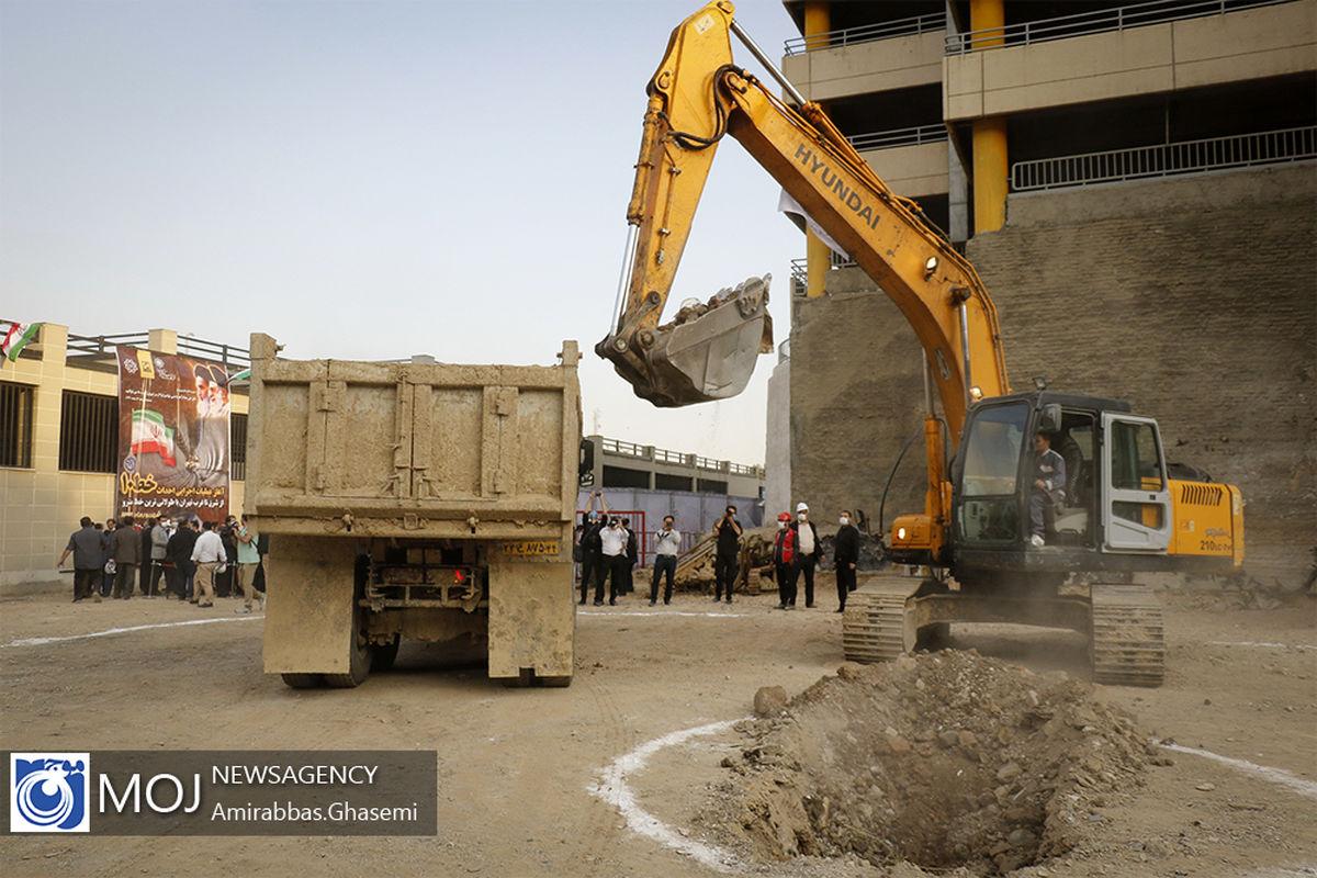 سقوط مرگبار بالابر در کارگاه مترو خیابان شهید نواب صفوی