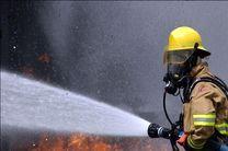 آتش سوزی ایستگاه لخته گیر گاز گناوه پس از پنج ساعت خاموش شد