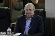 رئیس مجلس شورای اسلامی به حصیر آباد اهواز رفت