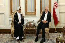 معاون سیاسی وزیر امور خارجه عمان با ظریف دیدار کرد