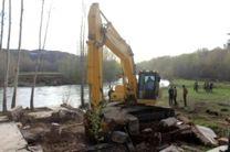 رفع تصرف 1.4 هکتار از بستر دریاچه سد زاینده رود
