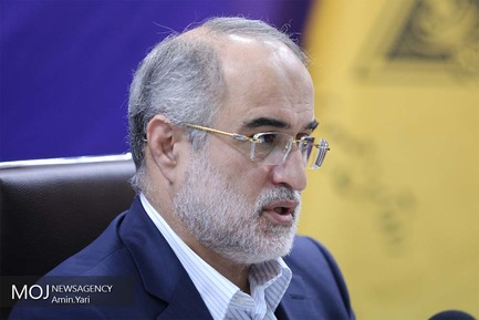 نشست خبری حسین عاشوری، قائم مقام راهآهن جمهوری اسلامی ایران