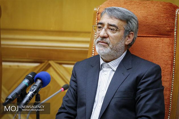 رحمانی فضلی تهران را به مقصد بغداد ترک کرد