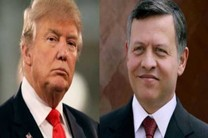تماس تلفنی شاه اردن با دونالد ترامپ
