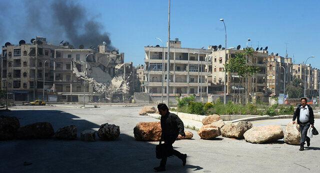 کشته شدن ۱۲ غیرنظامی در حمله جبهه النصره به حومه حلب