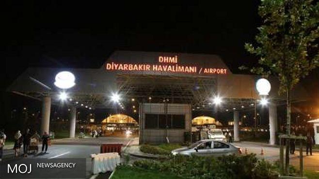 رسانه های ترکیه از حمله موشکی به فرودگاه شهر دیار بکر خبر دادند