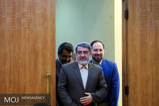 وزیر کشور کارخانه صنعتی مارال را در استان گلستان افتتاح کرد