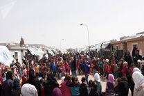 روسیه در غوطه شرقی ۷.۵ تُن کمک های بشردوستانه توزیع کرد