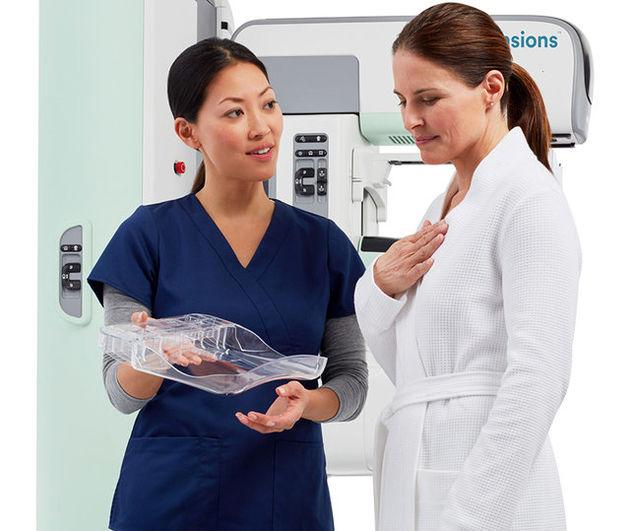 ماموگرافی با یک سیستم 3 بعدی