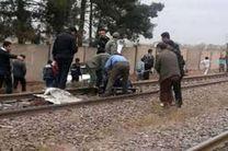 برخورد قطار با یک زن حدود 25 ساله در خط آهن ساری