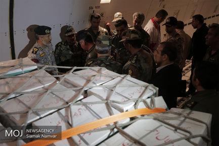 ارسال محموله های امدادی برای سیل زدگان خوزستان