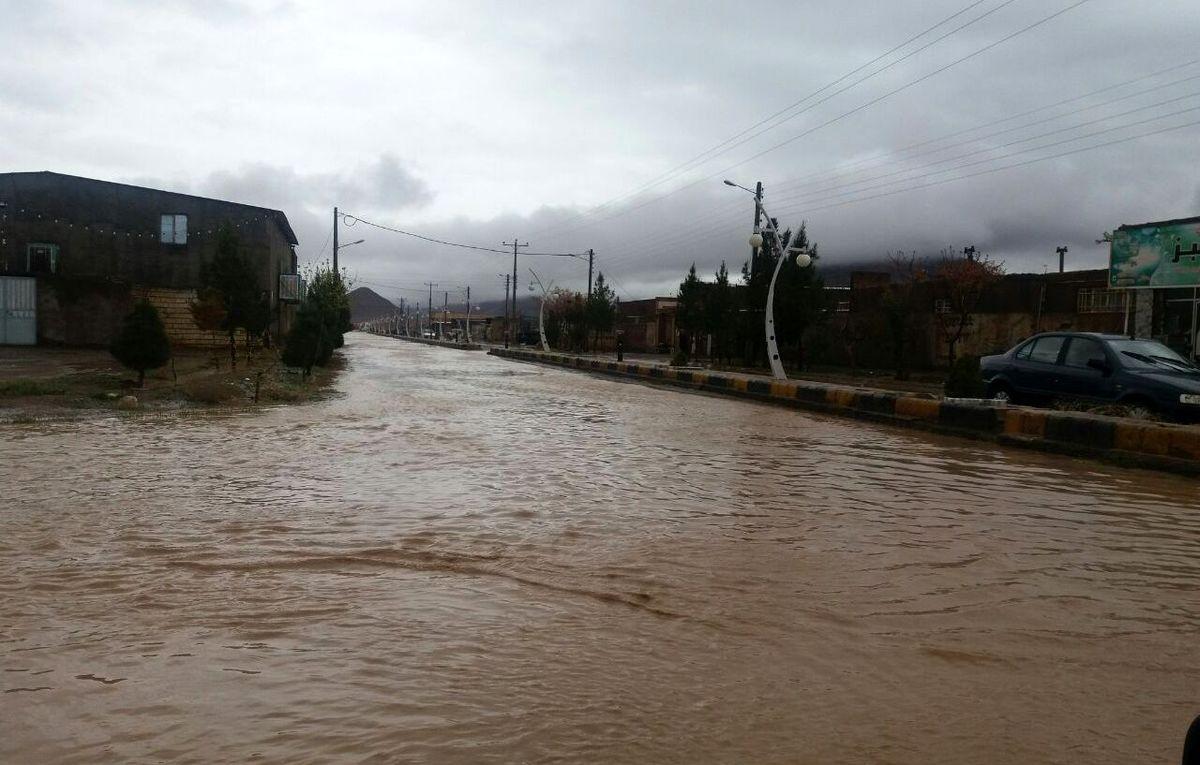 خسارت ۸۴  میلیاردی سیل اخیر به زیرساختهای شهرستان گناباد