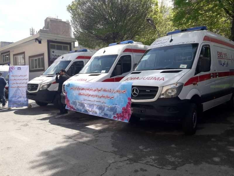 افزایش 5 دستگاه آمبولانس به اورژانس شهری